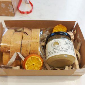 Orange Blossom Honey & Handmade Cantucci Gift Set