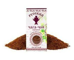 Russian chaga-Birch tea, 100g (in cardboard)