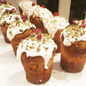 Easter Bread (Kulich). Available for Orthodox Easter on 1 and 2nd May 2021.