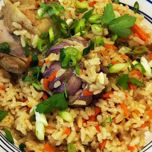 Uzbek Plov (Rice Pilaf) with chicken or lamb (2kg)