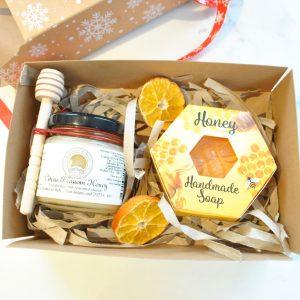 Honey and Handmade Soap Gift Set