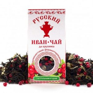 Russian Ivan-Tea and Cranberries, 50g