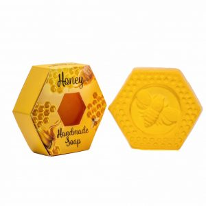Honey Oil Handmade Soap Natural Organic Soap Bar 100g